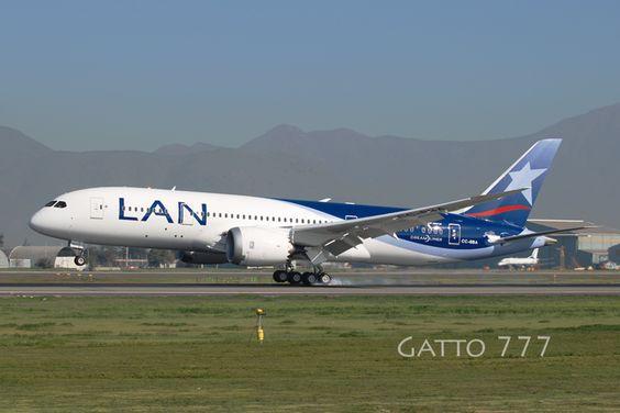 Boeing 787 Dreamliner - LAN