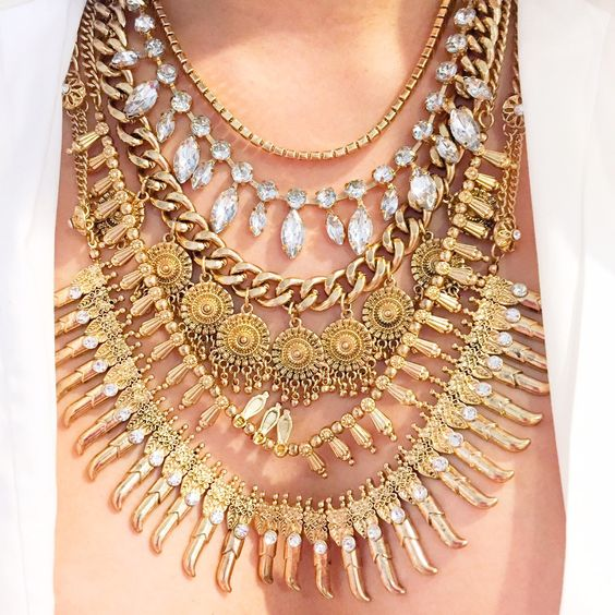Gold Casey Necklace