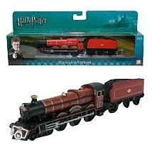 Hogwarts Express. Nerdy factaroo: The box is the same length as all 7 hardback books lined up.