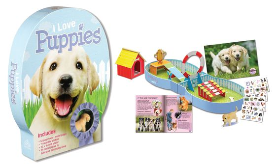 I Love Puppies and Other Kits for Pet Lovers!