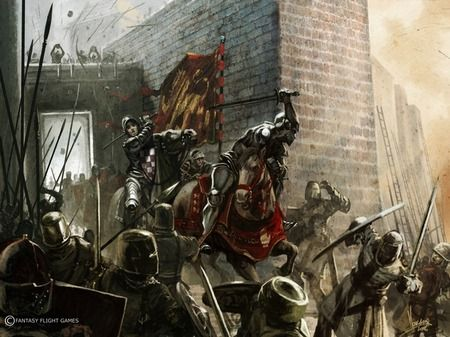 The battle for Anvard against the forces of the petty prince Rabadash. Defenders of King's Landing