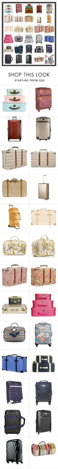 """Luggage Collection #1"" by franceseattle ❤ liked on Polyvore featuring interior, interiors, interior design, home, home decor, interior decorating, Diane Von Furstenberg, Tumi, Gucci and Liberty"