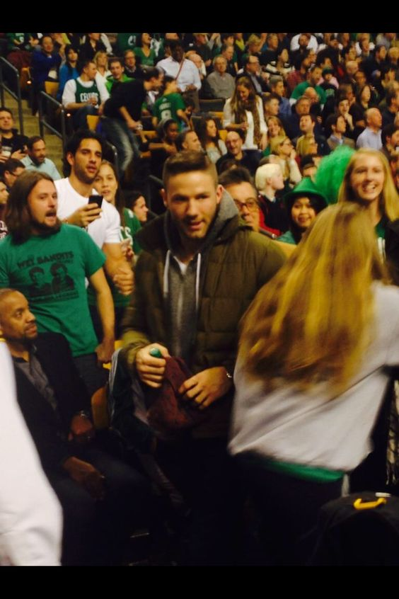at the Celtics vs. Cavaliers game (11/14/14)