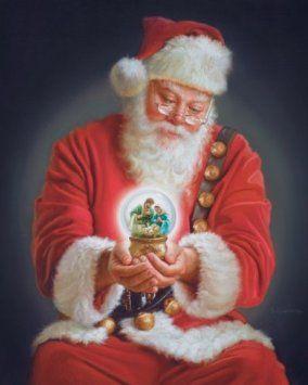 The Spirit of Christmas by Mark Missman Art Print Poster: Amazon.co.uk: Kitchen & Home