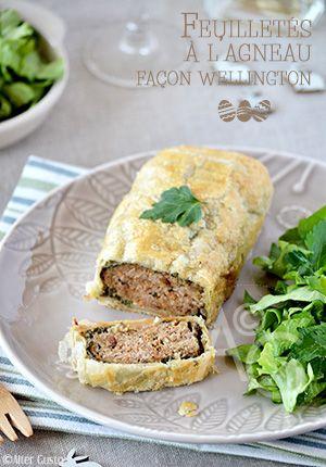 Une autre version, très savoureuse, à l'agneau, plus simple à réaliser et plus économique, du célèbre bœuf Wellington. Un régal à servir à Pâques ou autre.