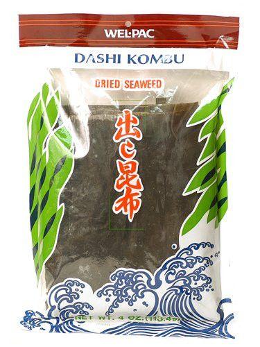 Welpac Dashi Kombu Dried Seaweed: