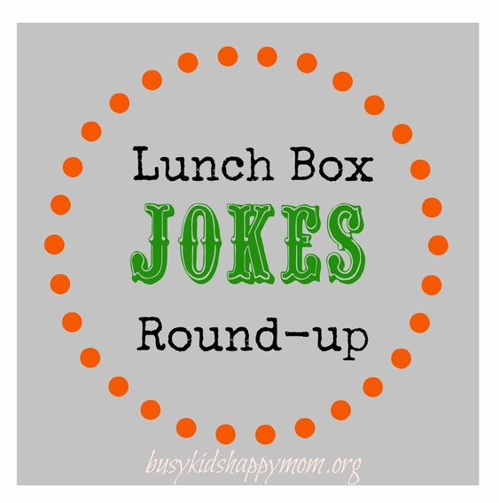 Printable Lunch Box Jokes - Round-Up (250+).  Great for early readers too!