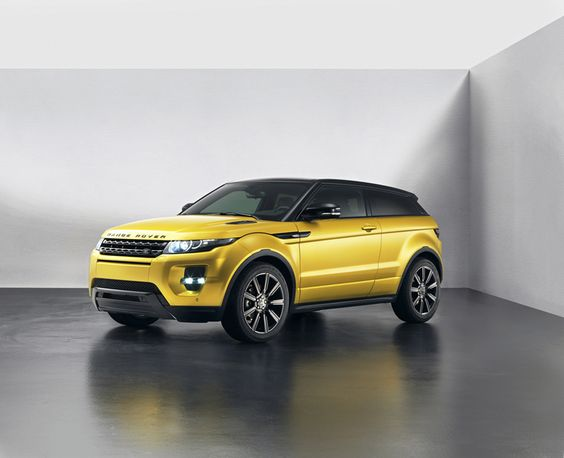 Foto Exteriores (1) Land Rover Evoque sicilian yellow Suv Todocamino 2013 Amarillo siciliano