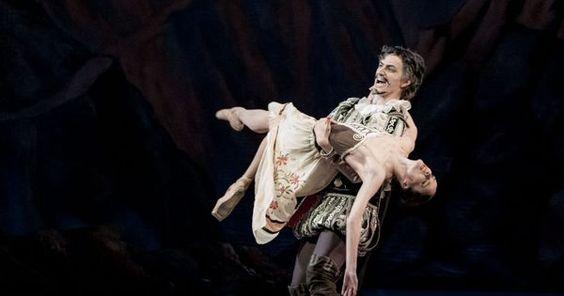 Laurencia - Ekaterin - Laurencia - Ekaterina Borchenko and Mikhail Venshchikov --- #Theaterkompass #Theater #Theatre #Tanztheater #Ballett