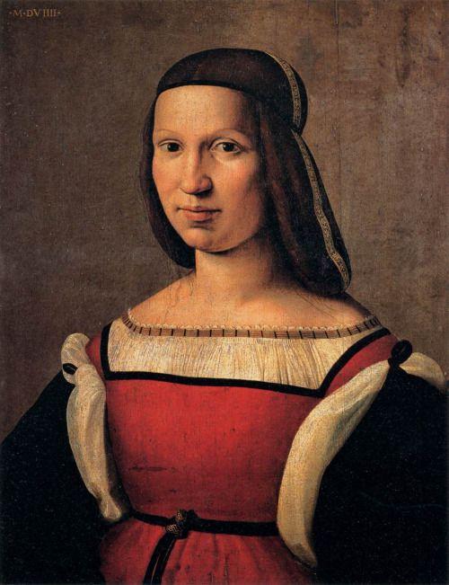 1509 Ridolfo Ghirlandaio - Portrait of a Lady