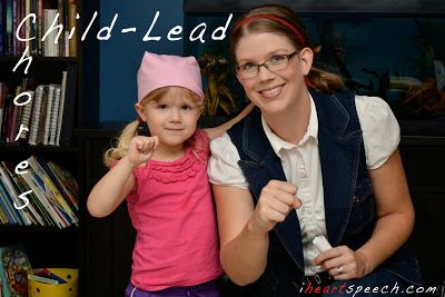 Child-Lead Chores| iHeartSpeech.com