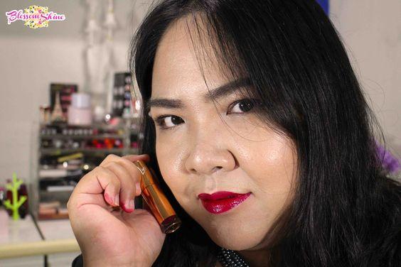 lip swatch liptint GOBAN - Daring