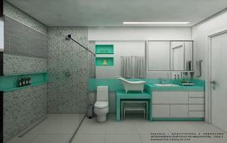 Banheiro dos filhos