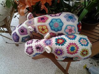Happypotamus pattern on Ravelry