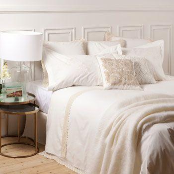 Lace bedding zara home and bedding on pinterest - Zara home canarias ...