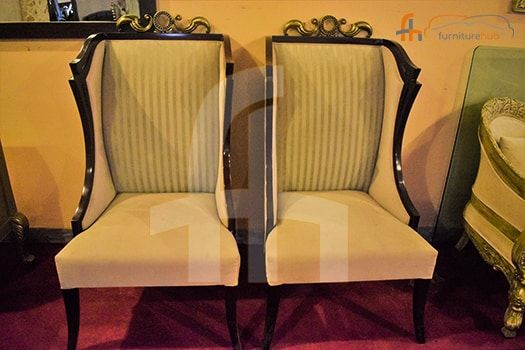 Buy Drawing Room Solid Wood Chairs Online At Discount Price In