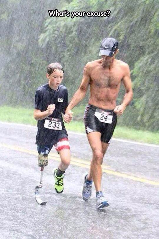 Indeed, what is your excuse?