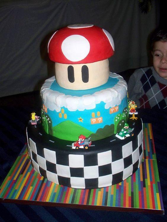 Mario Cake by {thejoyof}cake.: