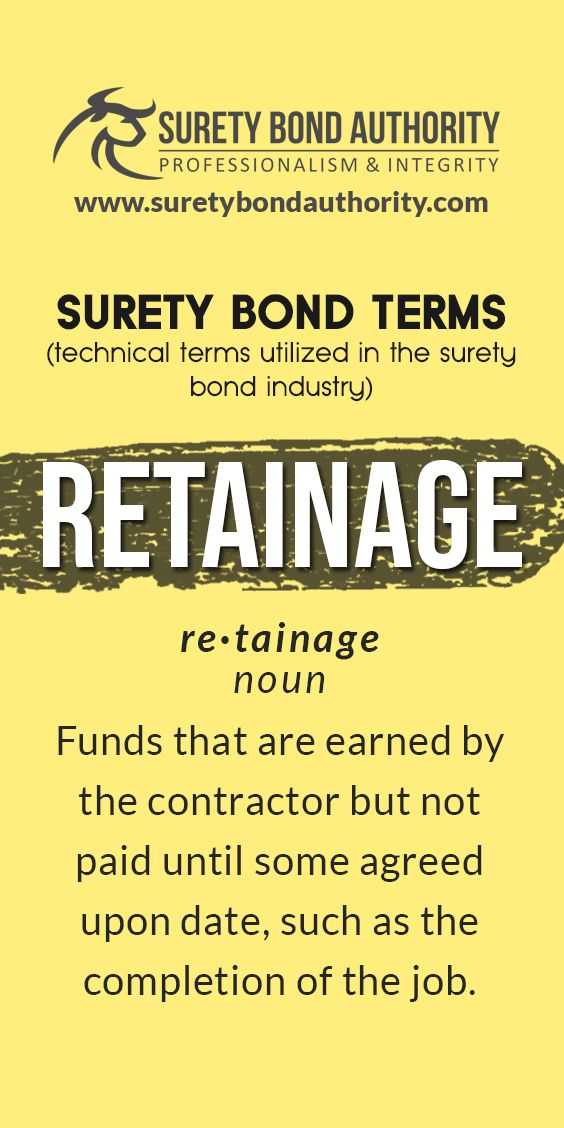 Pin On Surety Bond Terms Glossary