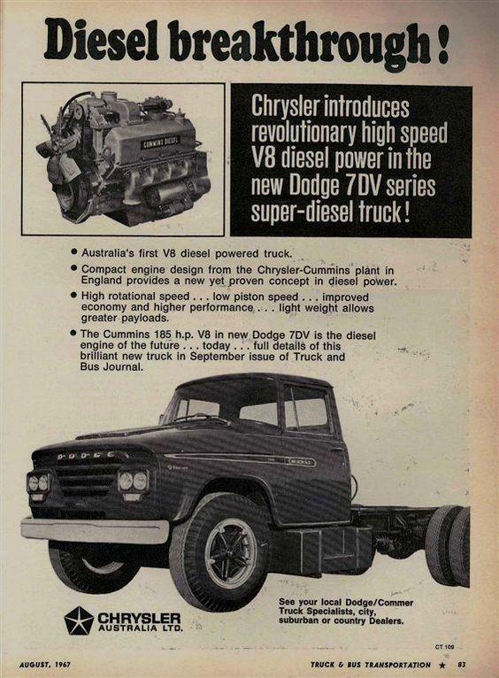 1967 Dodge Truck Ad Australia Trucks Dodge Trucks Chrysler