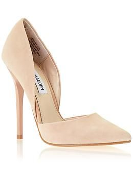 Steve Madden Varcityy | PiperlimeSuede nude d&39orsay pump | Amy