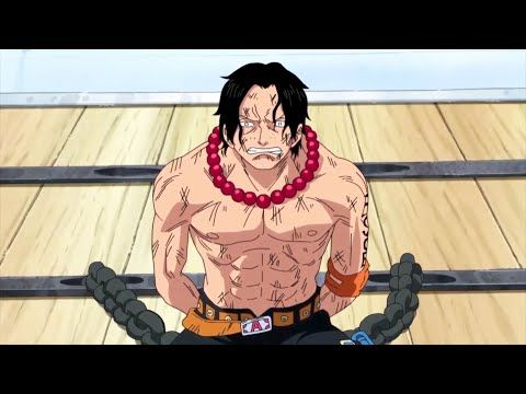 garp talks about family with ace luffy talks on equal terms with whitebeard ワンピース youtube one piece ace white beard