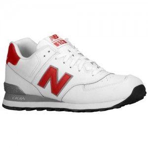 new balance white leather 574