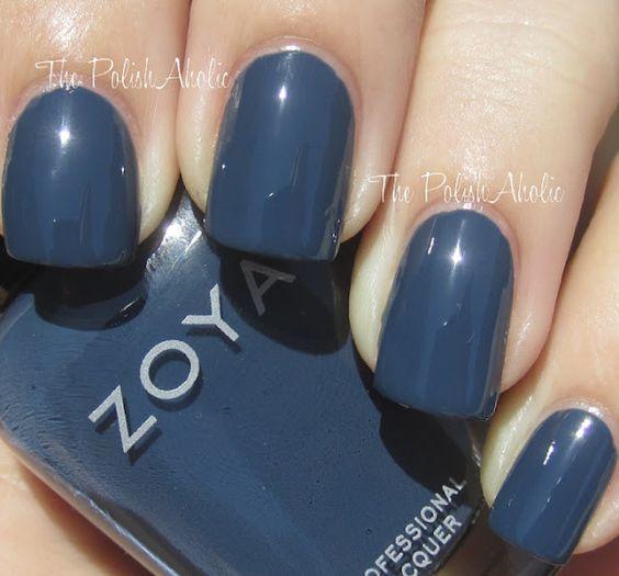 Natty  The PolishAholic: Zoya Fall 2012 Designer Collection Swatches!