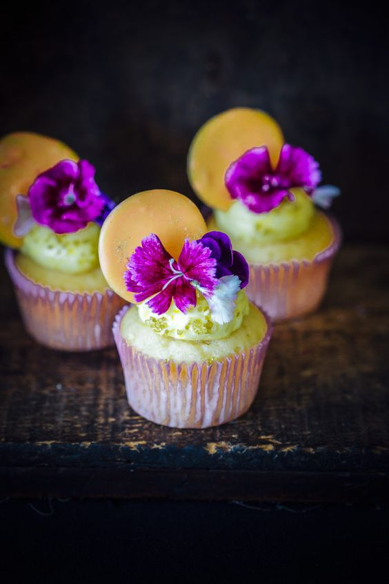 Passion Fruit Cupcakes