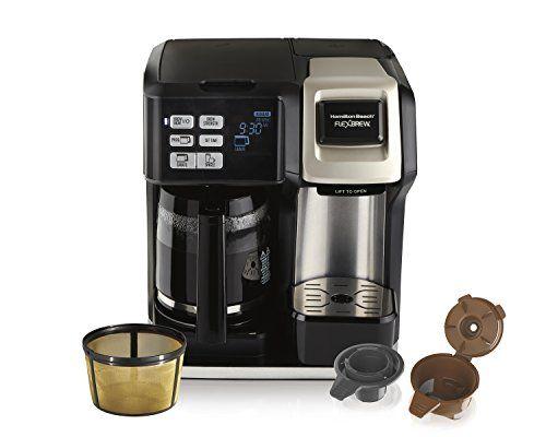 Hamilton Beach 49950c Flexbrew Coffee Maker Single Ser Https Www Amazon Com Dp B0768nng4x R Single Serve Coffee Makers Coffee Maker Single Coffee Maker
