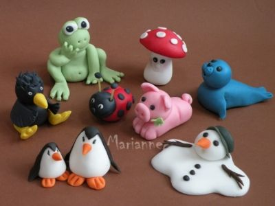 easy clay animals - photo #15