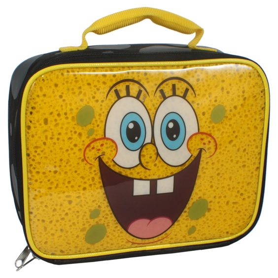 Nickelodeon Lunch Box - Black