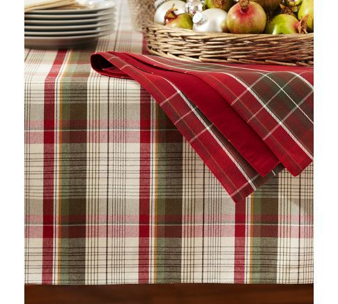 Plaid Tablecloths And Love On Pinterest