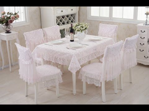 Mikroskop Zerfallen Hollywood  تلبيسه كراسي السفرة ,اغطية كراسي طاولة الطعام,Chair covers dining table -  YouTube | Dining table chairs, Diy room decor videos, Decor