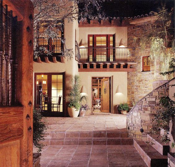 Spanish Style Homes With Courtyards: Courtyards, Spanish Courtyard And This Is Awesome On Pinterest