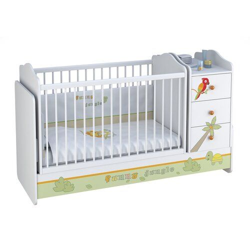 Beckman Cot Isabelle Max Cot Sleigh Cot Bed Nursery Crib