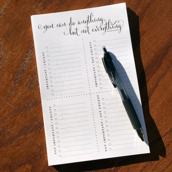 If you've ever used a priority matrix to help you sort your to-do list, you know…