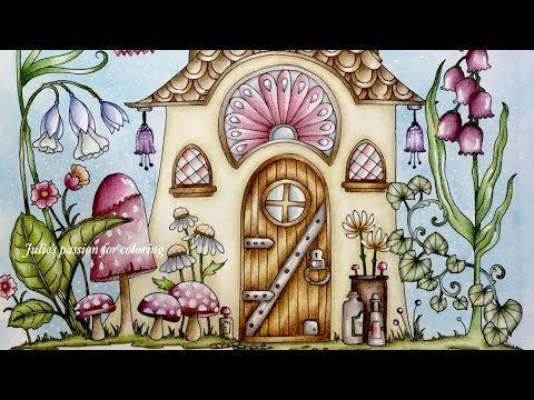 World Of Flowers By Johanna Basford Part 3 Prismacolor Pencils Color Along Youtube Johanna Basford Coloring Book Johanna Basford Coloring Basford