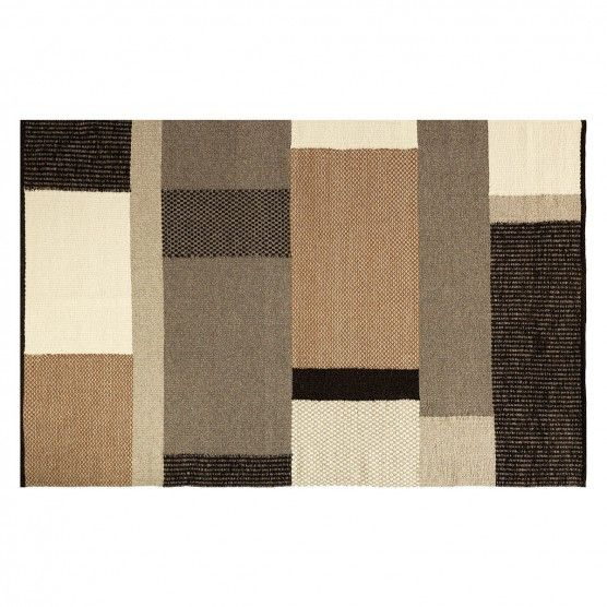 Seinfeld Undyed Flat Weave Wool Rug 170 X 240cm Flat Weave Wool Rug Wool Rug Flat Weave