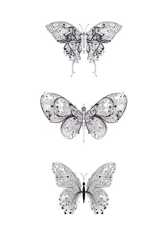 Si Scott: Butterflies
