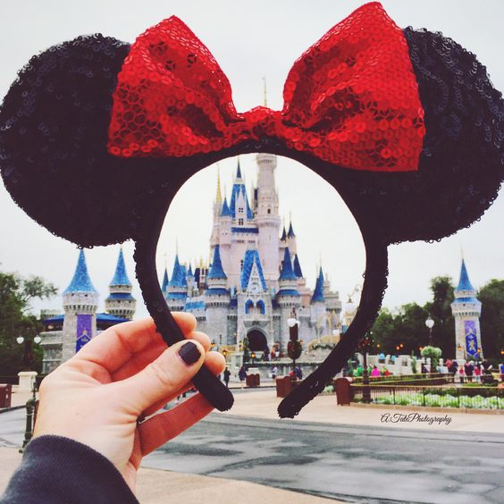 Love Disney | a.tatephotography | VSCO Grid® #Disney #MinnieMouse: