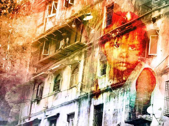 Enfants Des Rues by Stéphanie Brière