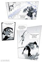 Teen Titans comic, page 27 by JessKat-art