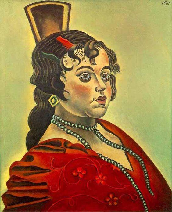 Miró - Bailarina española. 1921
