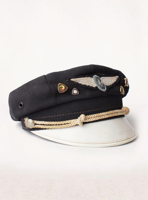 vintage buco rider's cap: