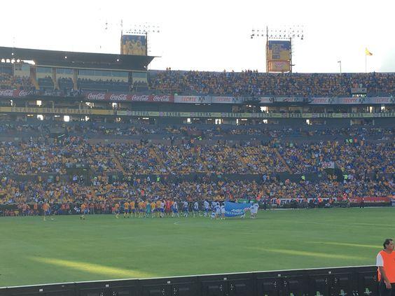 Club Tigres vs Club Puebla,en la liga Mx.(colaboracion ,Montse Vega).