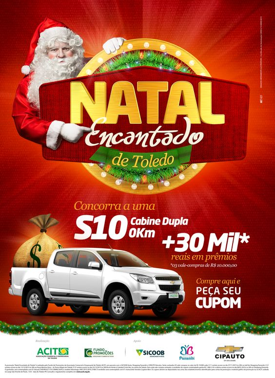 Natal Encantado de Toledo // 2015 on Behance