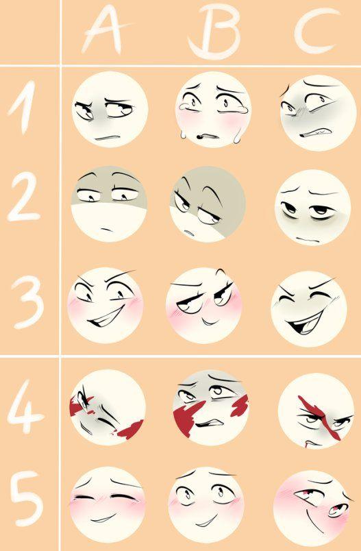 Expression Meme By Sayuki Chi Drawing Expressions Expression Sheet Drawing Face Expressions