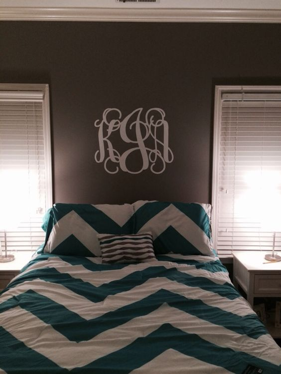 White Script Wall Decal