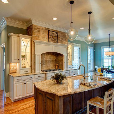 Astoria Granite Countertop Design Ideas, Pictures, Remodel, and Decor -  page 16 | cocinas (arte Marmol) | Pinterest | Granite countertop, Countertop  and ...